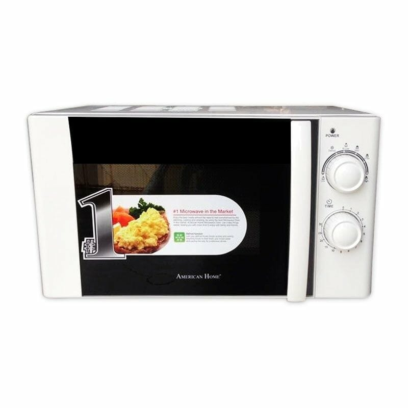 American Home Amw 25 Mechanical Microwave Oven